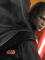 Star Wars Episode 3 teaser poster detail